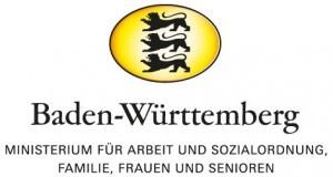 Logo Ministerium für Arbeit und Sozialordnung, Familie, Frauen und Senioren