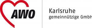 AWO Karlsruhe gemeinnützige GmbH Logo mit Herz
