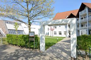 Außenaufnahme Hanne-Landgraf-Haus