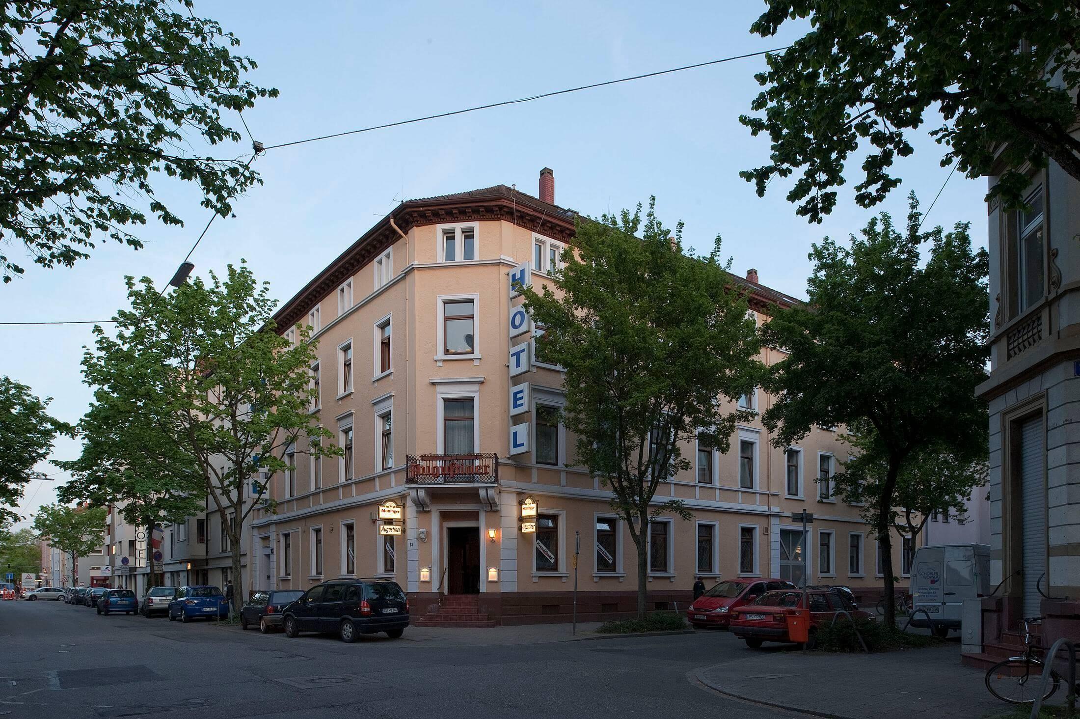 Außenaufnahme Hotel Augustiner