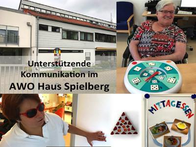 Unterstützende Kommunikation im AWO Haus Spielberg