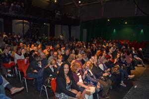 Blick auf das Publikum im Tollhaus beim AWO Betriebsfest 2017.