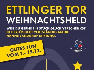 Flyer Ettlinger Tor Weihnachtsheld
