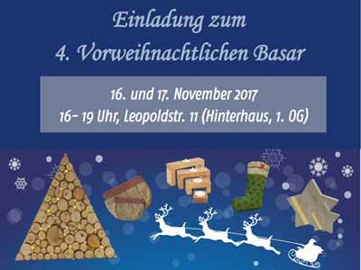 Plakat für den AWO Adventsbasar