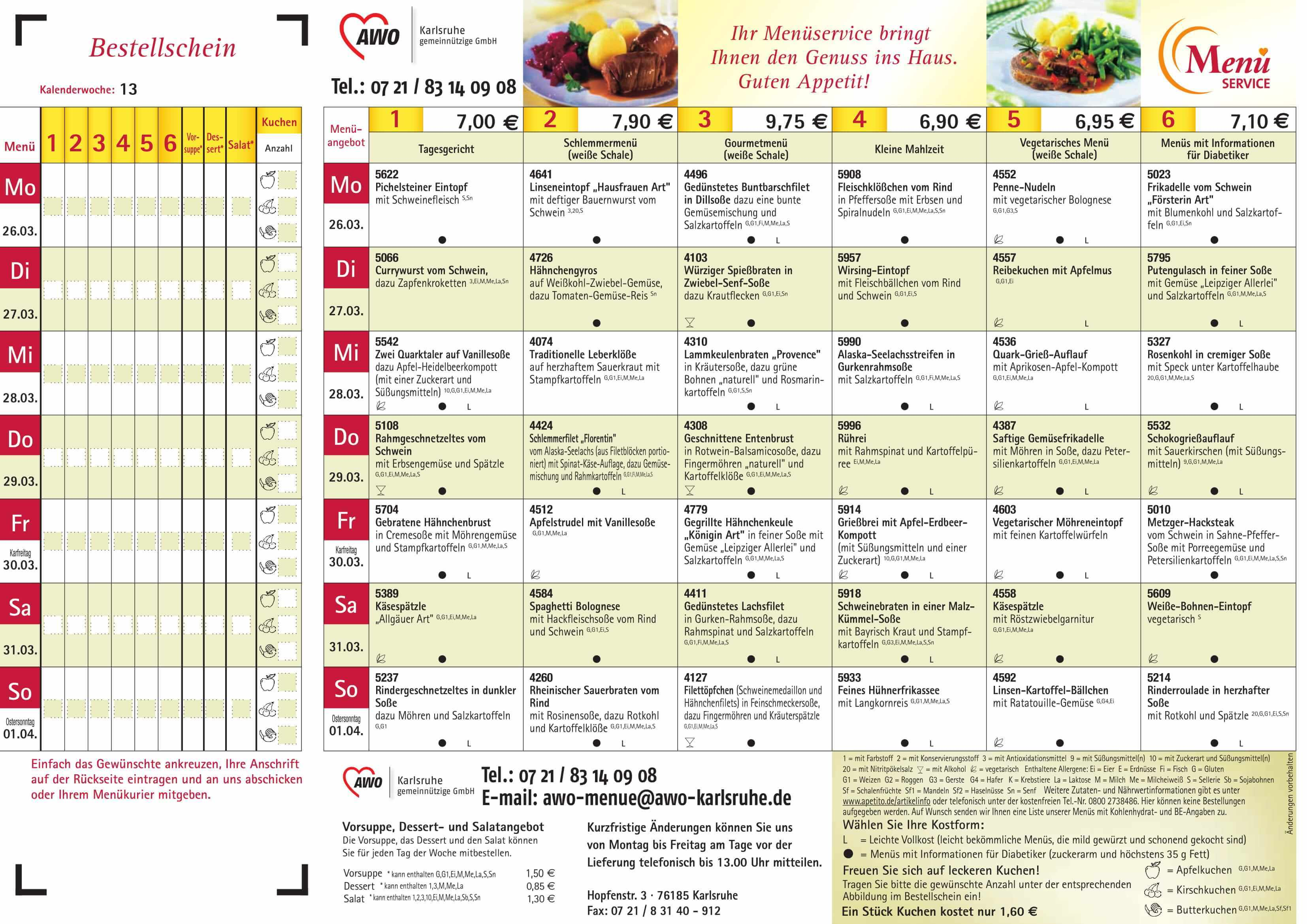 speisepl ne awo karlsruhe. Black Bedroom Furniture Sets. Home Design Ideas