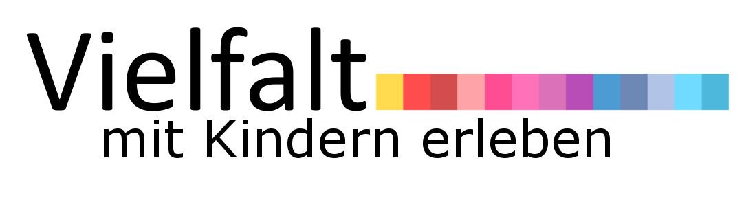 Logo mit dem Schriftzug Vielfalt mit Kindern erleben