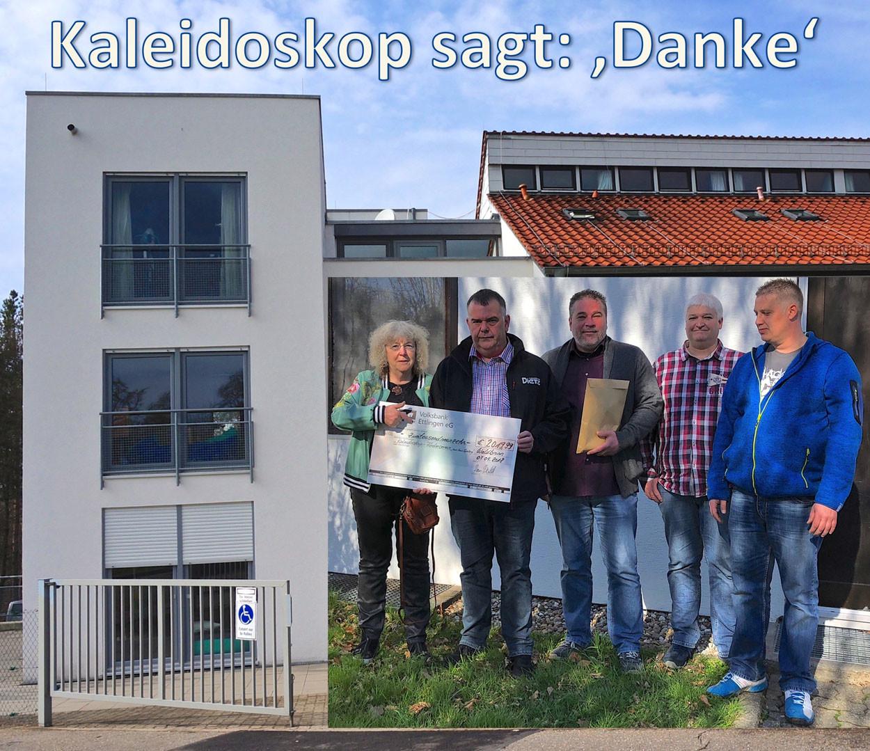 Förderverein Kaleidoskop sagt Danke.