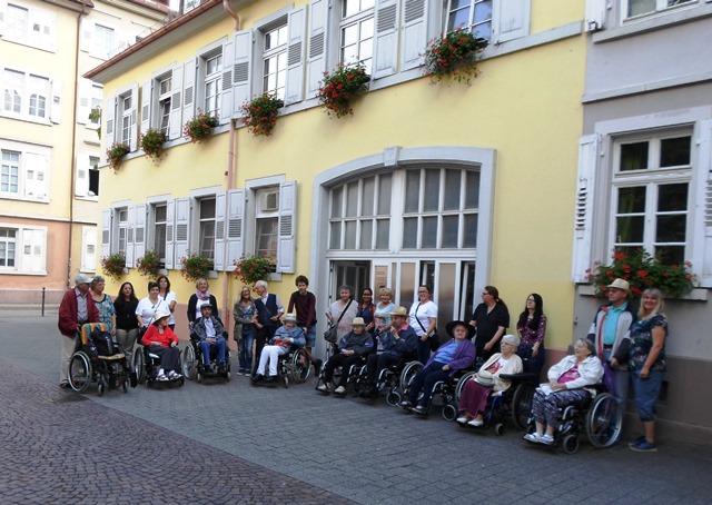 Citizen Day Ausflug Schlossgarten AWO Karlsruhe