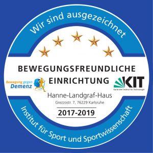 KIT Logo Bewegungsfreundliche Einrichtung