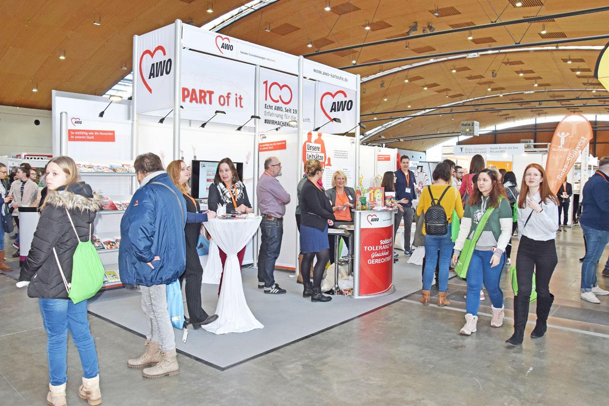 Messe Einstieg Beruf 2019 11 AWO Karlsruhe
