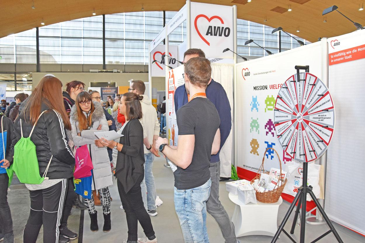 Messe Einstieg Beruf 2019 13 AWO Karlsruhe