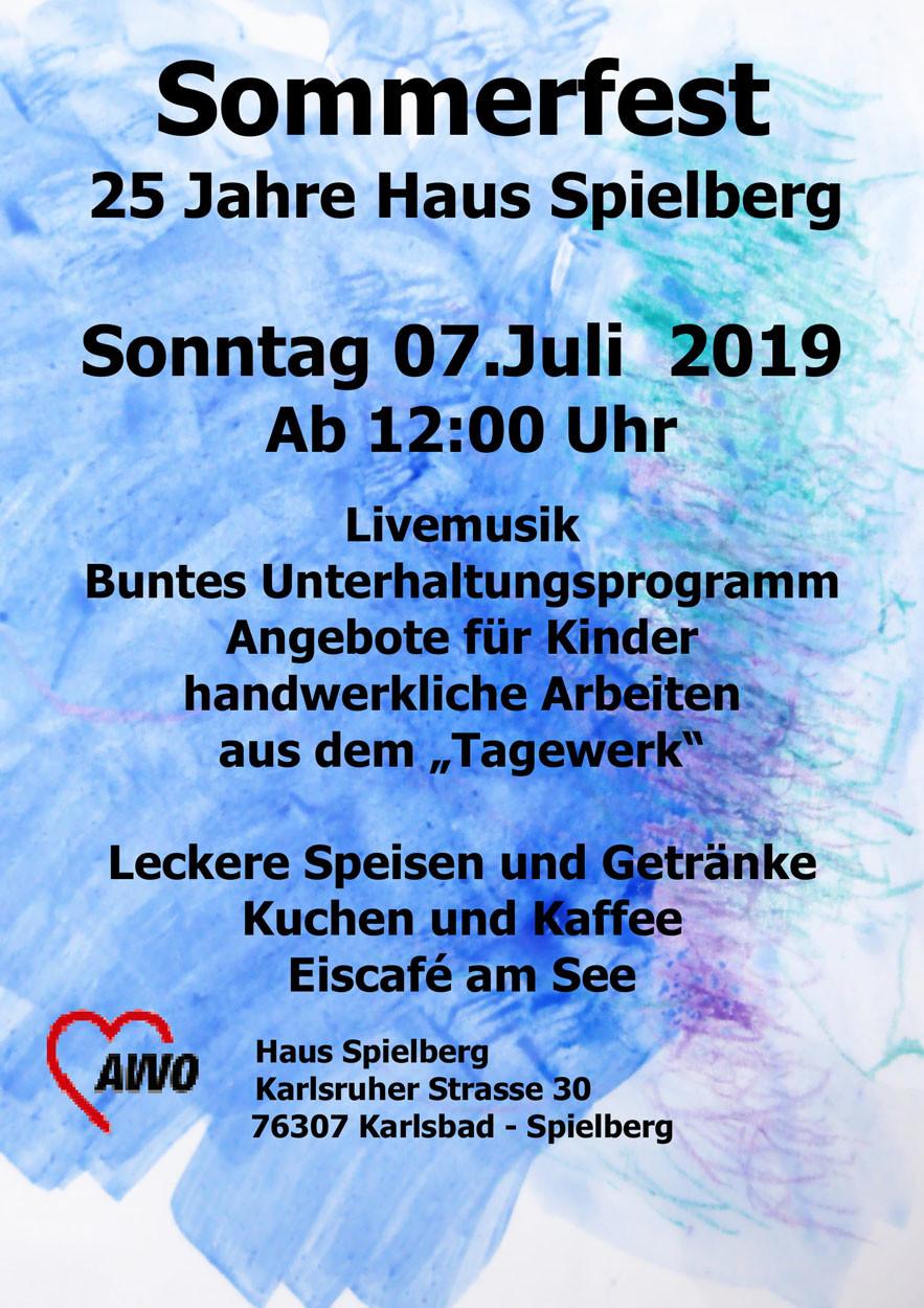 Pakat vom Sommerfest im Haus Spielberg am 07.07.2019
