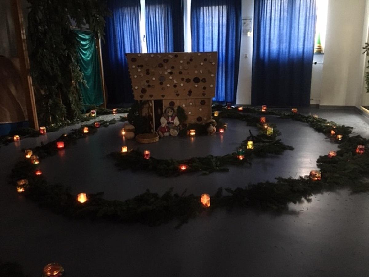 Ein kleines Hexenhaus für die Kinder
