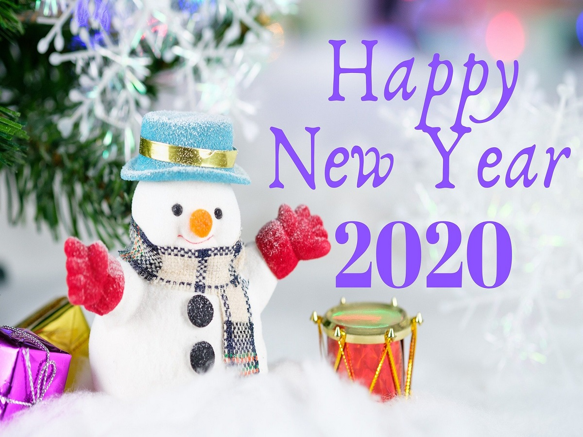 Frohes neues Jahr! 2020