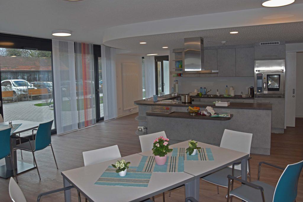 Blick in die offene Wohnküche.