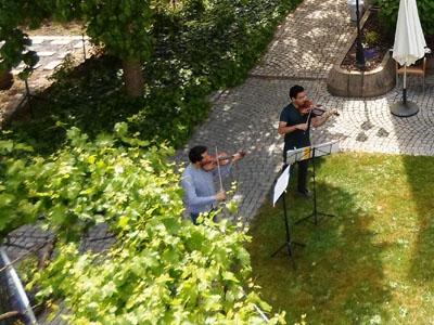 Gartenkonzert der Badischen Staatskapelle im Karl-Siebert-Haus