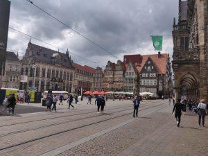 Innenstadt von Bremen - Fahrradtour