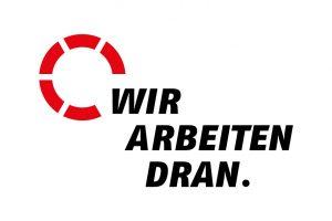 Logo AWO Bundesverband - Kampagne Wir arbeiten daran