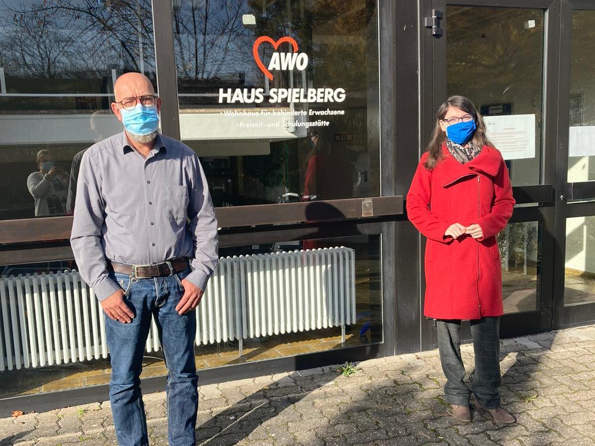 Besuch der Landtagsabgeordneten Frau Christiane Neumann AWO Karlsruhe