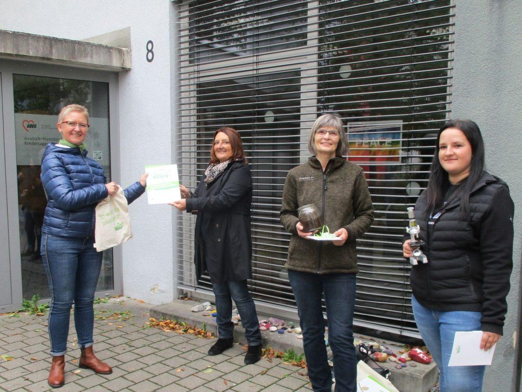 Zertifizierung Kita Explorateurs AWO Karlsruhe