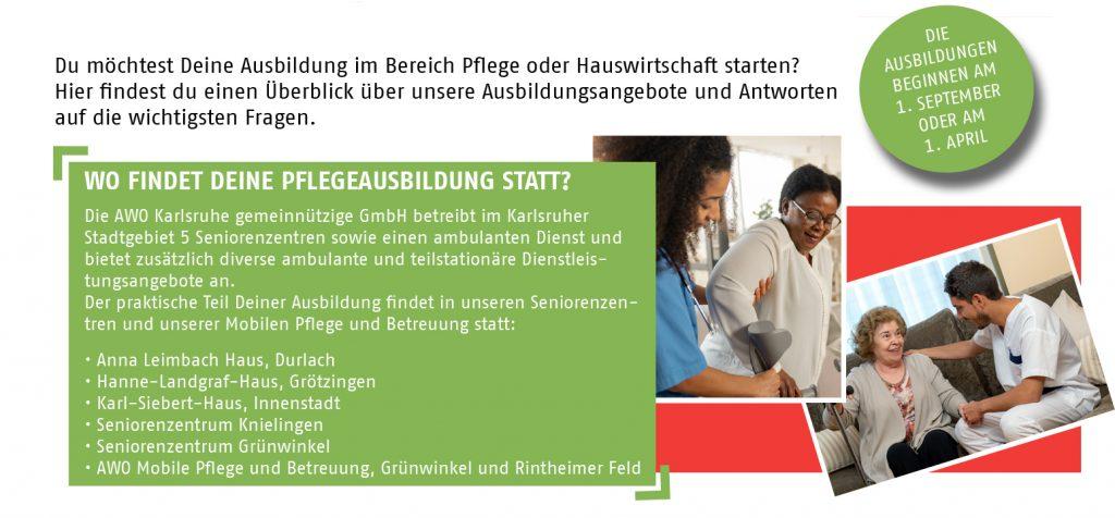 Pflegeausbildung bei der AWO Karlsruhe