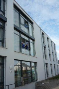 Besuch im Seniorenzentrum b 1 AWO Karlsruhe