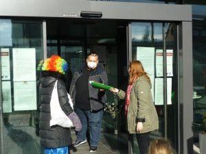 Besuch im Seniorenzentrum b 2 AWO Karlsruhe