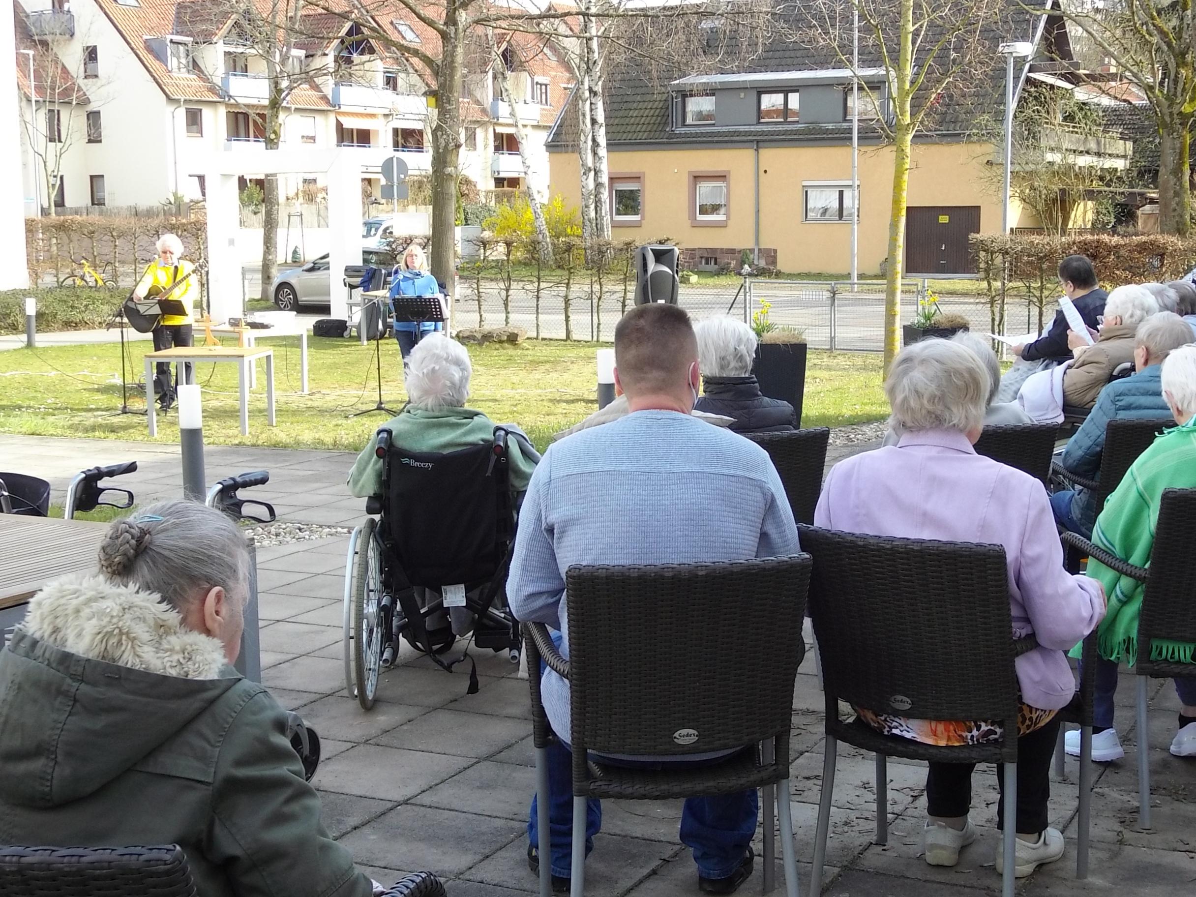 Hofgottesdienst BB AWO Karlsruhe