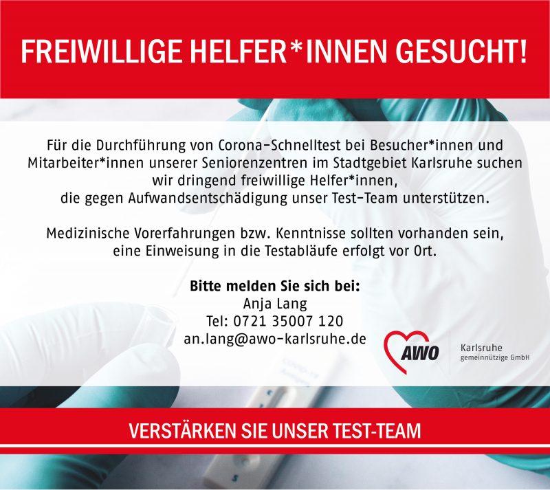 AWO Aufruf Testhelfer 0821 web AWO Karlsruhe