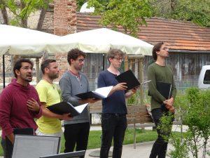 Quartett am Singer