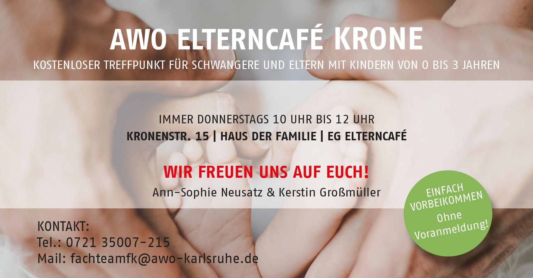 header Elterncafe Krone AWO Karlsruhe
